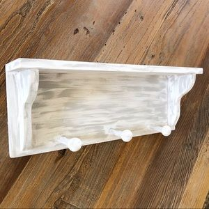 Farmhouse Rustic Real Wood White Gray Wall Decor
